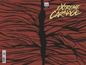 🚨🔥 EXTREME CARNAGE ALPHA #1 Manuel Garcia 1:50 Wraparound Symbiote Variant