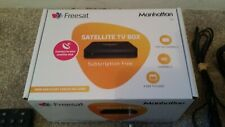 Manhattan sx freesat hd box complete in box with instructions.