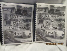 History of the Haubstadt (Indiana) Area 2 Volumes 764 Pgs. Great Vintage Photos