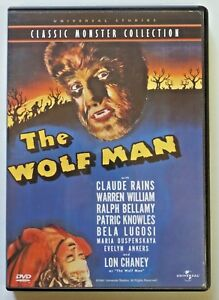 THE WOLF MAN Classic Monster Collection DVD 1999 Release Bela Lugosi Horror