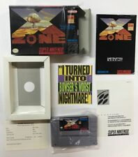 Super Nintento Entertainment System X ZONE SNES USA