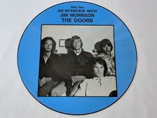 Jim Morrison DOORS An Interview With Picture Disc LP 1971 - Excellent Condition