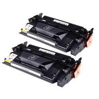 2 High Yield CF226X Black Toner Cartridges for HP 26X Laserjet Printer 9K Pages