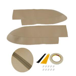 Smooth Door Panel Armrest Protect Cover Beige Right Left for Honda CR-V 07-11