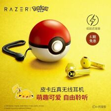 Razer Pokemon Pikachu Pokeball Limited True Wireless Earbuds Hammerhead Official