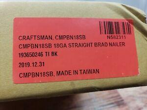 """Craftsman CMPBN18SB 18-Gauge Pneumatic 2"""" Straight Brad Nailer L2"""