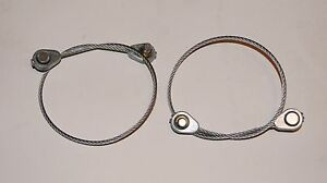 2 Pack Genuine MTD 746-0968 Lift Cable Fits Craftsman TroyBilt White YardMan B21