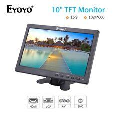 "EYOYO 10"" Inch TFT LCD Display Monitor BNC AV VGA HDMI for CCTV Security Camera"