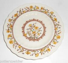 Vernon Kilns Pottery Hibiscus Bread Plate! MINT
