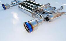 Invidia GEMINI Catback Exhaust System-Titanio Punte-NISSAN 350Z Z33 Nuovo Regno Unito