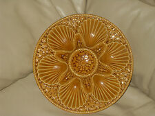 LONGCHAMP FRENCH MAJOLICA OYSTER SHELL PLATE - 12 available *STUNNING*