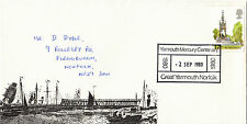 (28005) GB Cover Great Yarmouth Mercury Centenary - Gt Yarmouth 2 September 1980