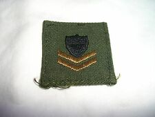 "Coast Guard Military Patch, 2nd Class, NOS, 1 3/8"" x 1 3/8"""