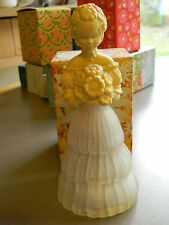 Avon Garden Girl Decanter/Bottle- Cotillion Cologne- Empty w/Box