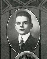 THOMAS DEWEY  High School Yearbook  SENIOR Year