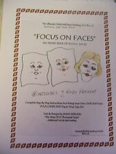FOCUS ON over 200 FACES ULTIMATE BOOK~includes body patterns~BARB & DOUG KEELING
