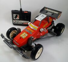 Vintage 80's Nikko Japan 1/14 scale R/C Frame Buggy Black Fox Red
