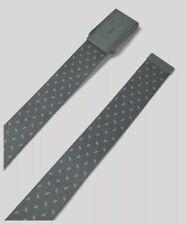 Under Armour Men's Reversible UA Range 2 Webbing Belt, OSFA Gray/White