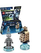 LEGO Dimensions, Doctor Who, Cyberman and Dalek Fun Pack Mini Figures Gift Toy