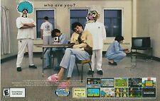 Original 2003 WARIO WARE, INC Nintendo GameCube video game print ad page