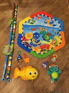 Baby Einstein Rhythm of the Reef Gym with Lights and Sounds playmat play mat