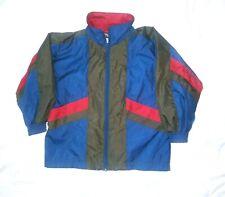 Apparatus Boys Size 5 Retro Style Lined Wind Breaker Full Zip Jacket