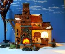 Dept 56 New England Village Chas. Hoyt Blacksmith! Fantastic piece