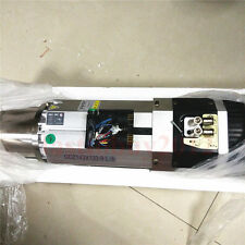 New CNC 9KW ATC Spindle Motor 6.4Nm 380V 200/400Hz Long head Replace Italy HSD