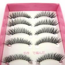 BHS5 10 pairs thick MESSY CROSS WINGED BEAUTY false eyelashes PARTY eye lashes