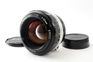 NIKON NON-AI NIKKOR SC AUTO 55mm F/1.2 MF PRIME Lens W/Caps Near Mint Tested