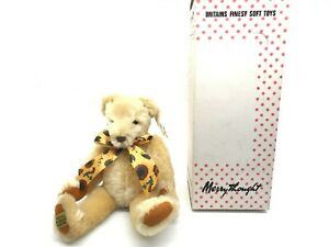 """Merrythought Sunshine Jointed Teddy Bear Exclusive W/ Tags and Box 12"""""""