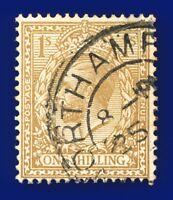 1924 SG429 1s Bistre-Brown N45(1) Good Used  auuj