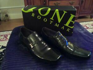 Jones The Bootmaker Mens black formal Shoe Leather upper and sole Sz10 Worn Once