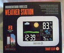 Smart Gear Indoor/Outdoor Wireless Weather Station Remote Sensor (2 Temp Zones)
