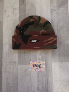 Palace Skateboards Woodland Camo Beanie |AW18