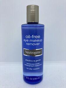 Neutrogena Oil Free Makeup Remover 8 oz Removes Even Waterproof Mascara