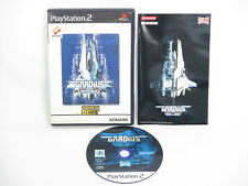GRADIUS III and IV 3 4 Konami the BEST Ref/ccc PS2 Playstation 2 Japan Game p2