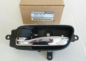 NEW 2013-2018 Nissan Altima, Pathfinder Driver Interior Door Handle, OEM Nissan