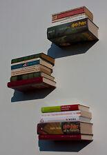 3er Set Taschenbuch- Kinderbuch-Reclam-Konsole,unsichtbar Wand-Deko,Bücherboard