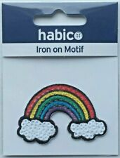 Habico Blue Sequin Flower Iron on Motif Patch Child or Adult Embellishment