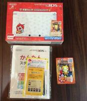 Nintendo 3DS LL Yokai watch Jibanyan Pack limited production from Japan F/S USED