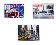 Tappeto moderno stampa città 80 x 47 cm new york parigi londra arredo casa