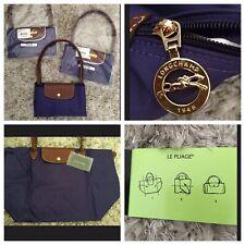 "NEW 100% Authentic Longchamp ""Le Pliage"" LargeFoldable Shopping Tote Bag Handbag"