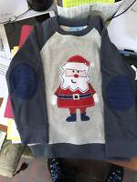 NWT Boys J Khaki Size 4T Christmas SweatShirt with Elbow pads Must S@@