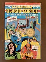 Alexandria Ocasio Cortez & Freshman Force Secret Variant Captain America /500