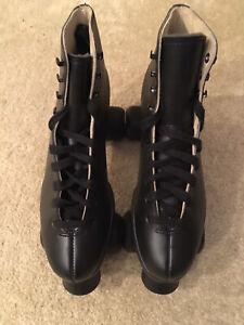 Sure Grip Black Boot Roller Skates Men's Skate Size 10 (Super X 8)