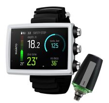 New listing Suunto Eon Core Scuba Diving Computer with Transmitter and Usb Cable White