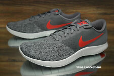 f080510ac0e9 Nike Flex Contact Grey Red 908983-006 Running Shoes Men s Multi Size NEW