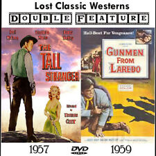The Tall Stranger & Gunmen From Laredo 1957/59 Joel McRea, Virginia Mayo