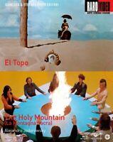 Alejandro Jodorowsky - El Topo + The Holy Mountain - Cofanetto 2 Blu Ray - Nuovo